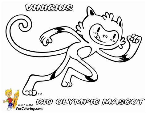 Olympic Coloring Pages by 2016 Olympic Coloring Pages Sketch Coloring Page