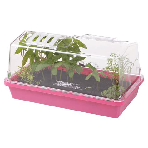 Indoor Propagator Home Grow Planter Kit Vegetables Herbs
