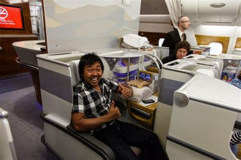 emirates upgrade to business class business class on emirates air others