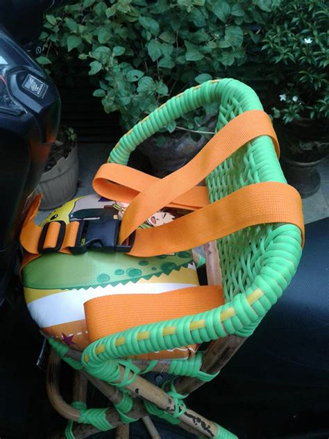 Kursi Bonceng Anak Rotan jual kursi jok bonceng rotan boncengan anak depan motor