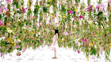 Flower Garden In Japan The Floating Garden In Japan Where Flowers Move Skyward As You Approach 171 Twistedsifter