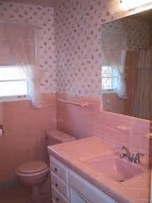 Pink Tile Bathroom Ideas Diy 1960 S Pink Tile Bath Before Our Upstairs