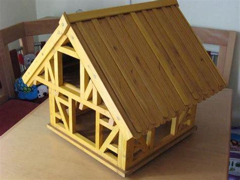 wo kaufen ein vogelhaus gro 223 es vogelhaus in fachwerk bauweise in eigener