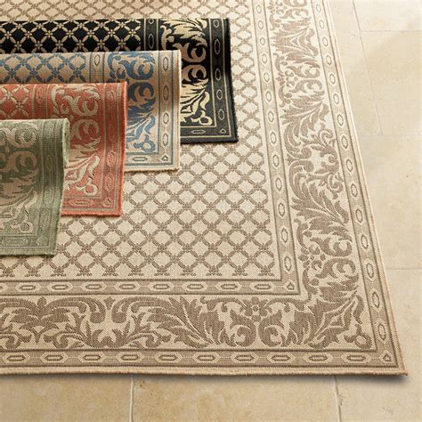 Frontgate Outdoor Rugs Ashworth Outdoor Area Rug Traditional Outdoor Rugs By Frontgate
