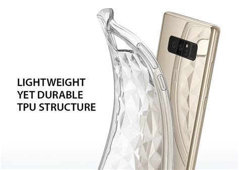 Rearth Ringke Samsung Galaxy Note 8 Air Clear etui ringke air prism galaxy note 8 clear 4kom pl