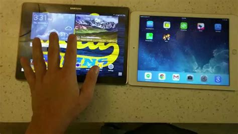 Air 2 Review review air 2 vs galaxy tab s 10 5 comparison in 4k