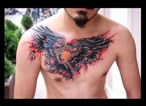 Eagle Tattoo Cover Up Ideas | cover up tattoo eagle tattoo tattoo pinterest