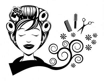 imagenes para pintar una estetica decoraci 243 n de peluquer 237 as con vinilos decorativos rulos