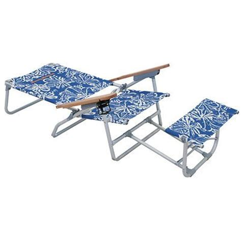 Bahama Chair With Footrest by Bahama Oversized Aluminum Chair With Footrest
