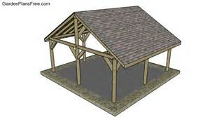 outdoor shelter plans free garden plans how to build