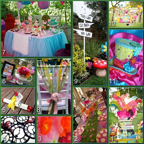mad hatter themed decorations mad hatter tea table decorations photograph disney p