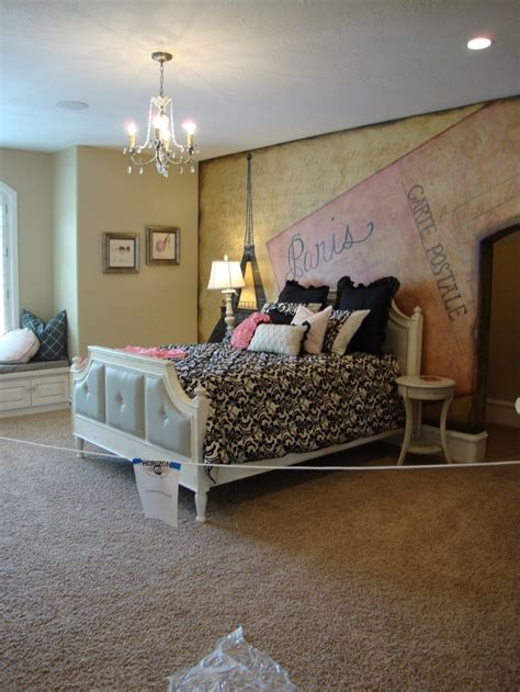 paris themed bedroom for teenagers teen paris bedroom paris themed room pinterest