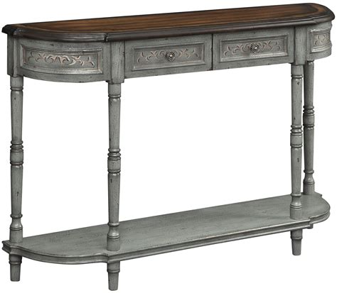 grey console table with drawers markham grey frame 2 drawer console table from coast to