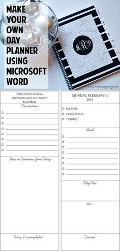 how to make your own card using word template template for insurance information in planner blank