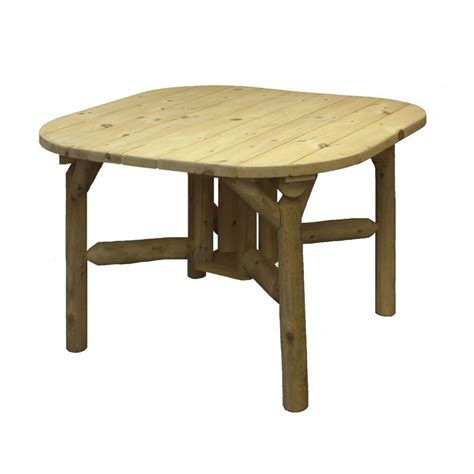 Cedar Dining Table Shop Lakeland Mills 47 In W X 47 In L Square Cedar Dining Table At Lowes