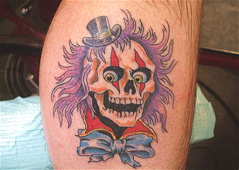 clown face tattoo designs clown meaning designs