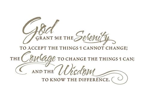 vinyl wall decal the serenity prayer by empressivedesigns