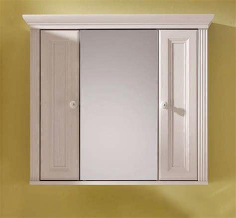 spiegelschrank landhausstil badschrank spiegelschrank mit 2 t 252 ren landhaus