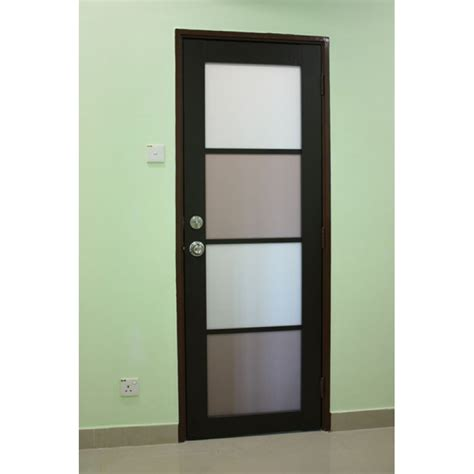 door swing aluminium swing door