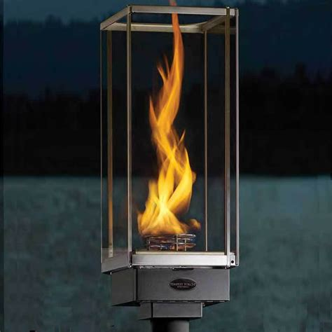 Gas Outdoor Lighting Fixtures Accessories Contemporary Wall Mounted Copper Frame Gas Torch Lantern For L Decoration In