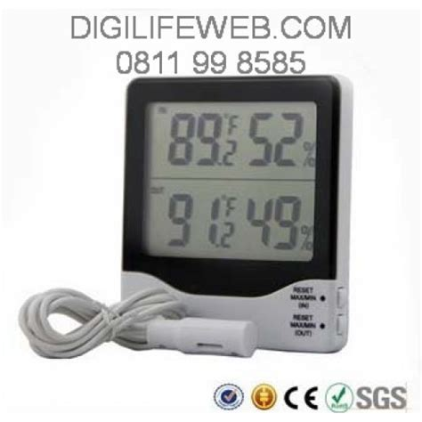 Thermometer Hygrometer Thermo Hygro Manual Suhu Dan Kelembapan hygrometer thermometer