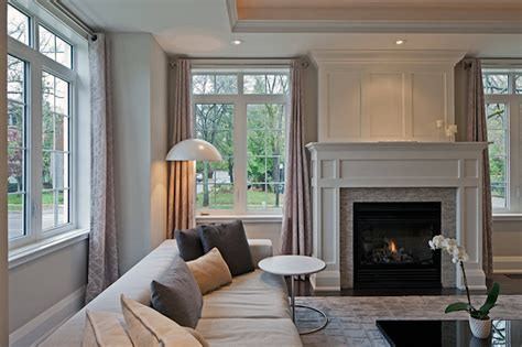 Transitional Living Room With Fireplace Fireplace Overmantel Design Options For My Dining Room