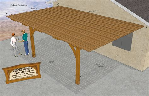 Patio Covers Plans Building Plans Patio Cover 187 Woodworktips