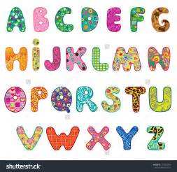 colored letters stock photo colored textured alphabet letters made