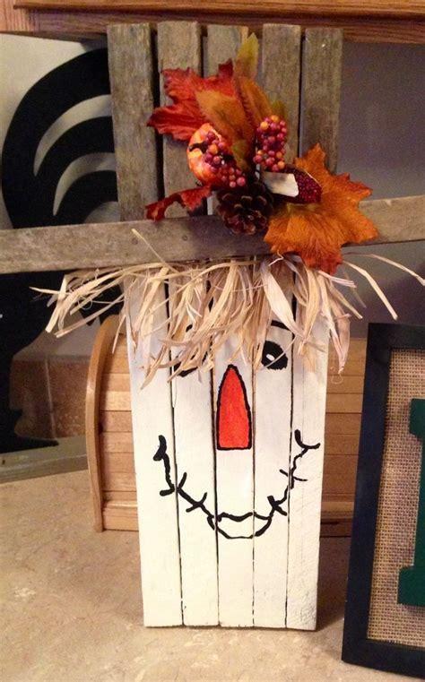 thanksgiving handmade tobacco stick scarecrow crafts