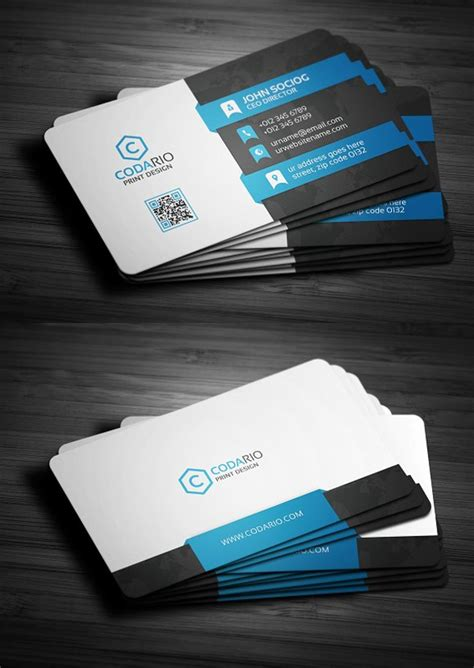 template program make business cards 25 new professional business card templates print ready