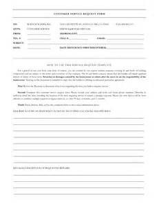it service request form template best photos of service form template word it service