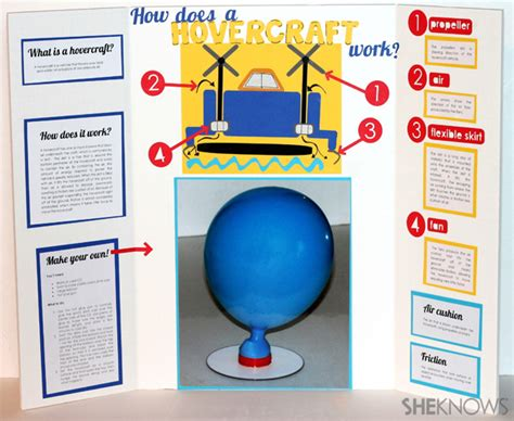 air powered car research paper how does a hovercraft work