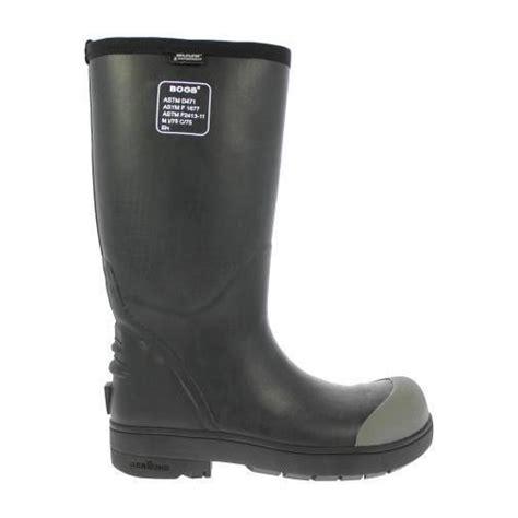 bogs s food pro steel toe waterproof rubber work boots