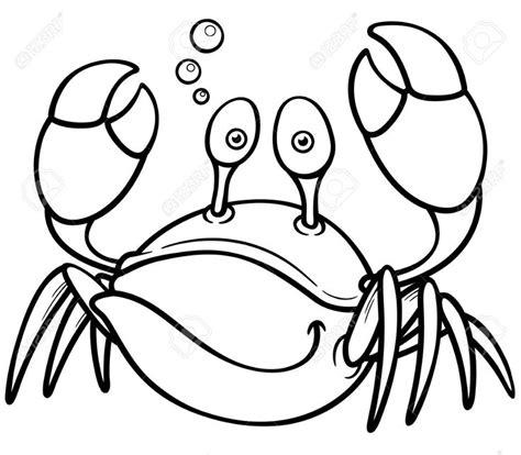 imagenes de animales animados para colorear ilustraci 243 n vectorial de dibujos animados el cangrejo