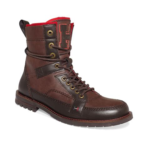 hilfiger s boots hilfiger brutus boots in brown for iroko
