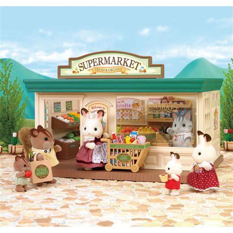 Sylvanian Families Original Supermaket sylvanian families supermarket 163 50 00 hamleys for toys and
