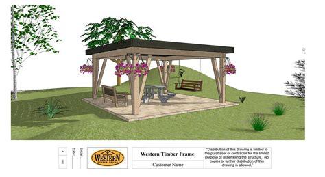 how to install a pergola how to install a diy timber frame pergola kit getting