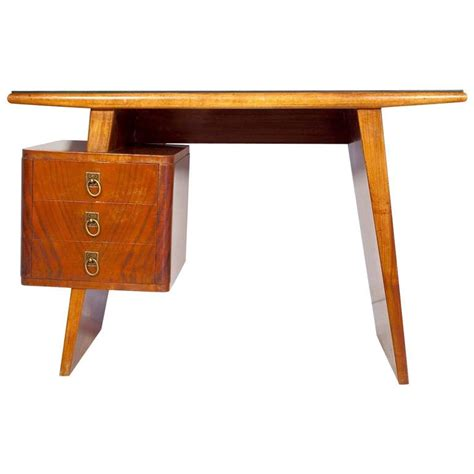 Small Writing Desk With Drawers Small Italian Mahogany Writing Desk With Drawers For Sale At 1stdibs