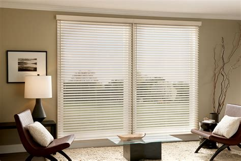 Wood Window Treatments Faux Wood Blinds 3 Blind Mice Window Coverings