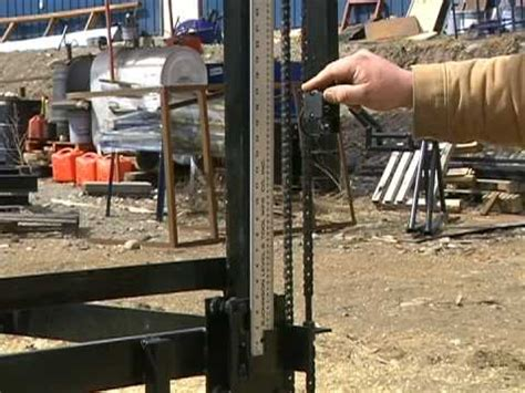 swing sawmill d l swing blade sawmill youtube