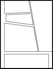 Comic Book Panel Template by Comic Panel Templates