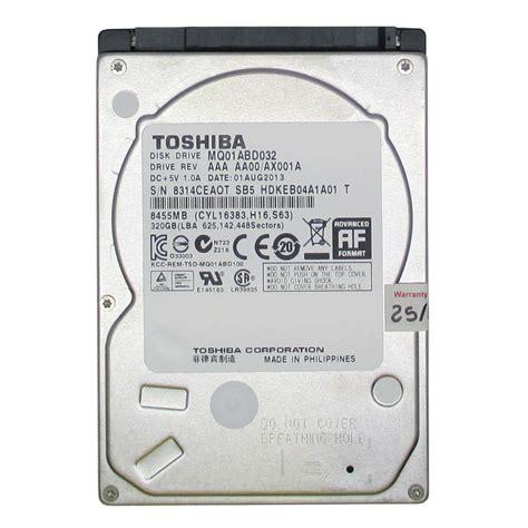 Harddisk 25 320g 5400 Rpm toshiba mq01abd032 320gb serial ata 3 0gbps 2 5 inch 5400 rpm jakartanotebook