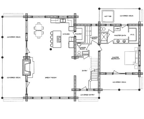 Homestead Cabin Plans by Log Home Floor Plan Homestead