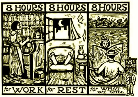 The Eight Hour Day by Haymarket Riot