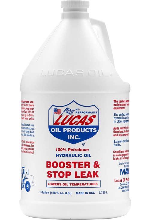 buy  warren dist luc lucas hydraulic oil booster stop leak gallon hardware world