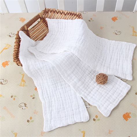 Banglegelang Fashion Import G 046 10 layers cloth cotton baby inserts nappy liners diapers reusable washable white ebay