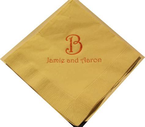 Personalized Napkins - napkins personalized reanimators