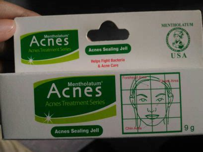 Salep Acnes review salep acnes sealing jell besok sore