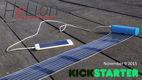 compact solar charger heli on the most compact solar charger with