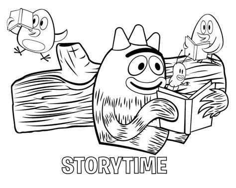 printable coloring pages yo gabba gabba free printable pictures coloring pages for kids